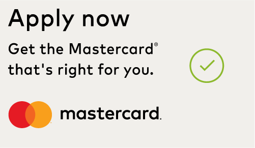 Image of correct read-through of the Mastercard logo