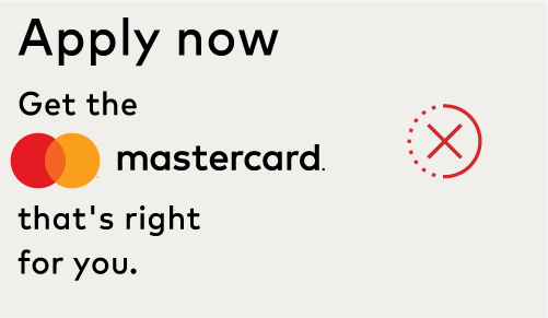 Image of incorrect read-through of the Mastercard logo