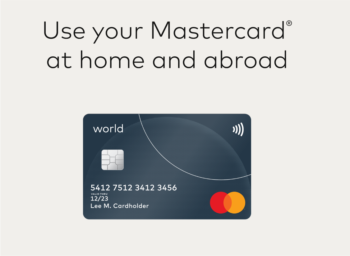Image of correct Mastercard card artwork