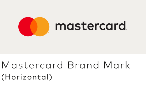 Image of the Mastercard horizontal configuration