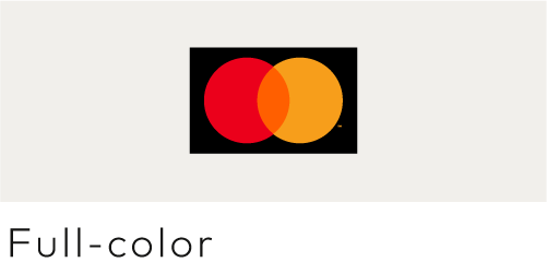 Image of the Mastercard decal sticker full color version