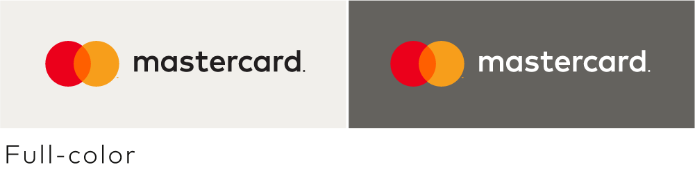 Image of the horizontal Mastercard full color version