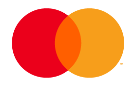 Mastercard Debit mark for use on black and dark backgrounds