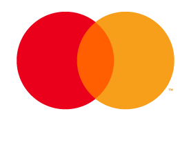 Mastercard Débit mark for use on black and dark backgrounds backgrounds
