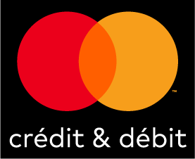 Mastercard credit and debit decal sticker