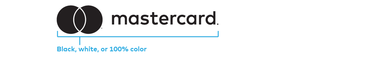Image of the Mastercard logo solid specifications